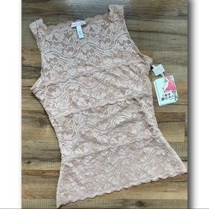 NWT Spanx  Haute Couture Lace Camisole Top